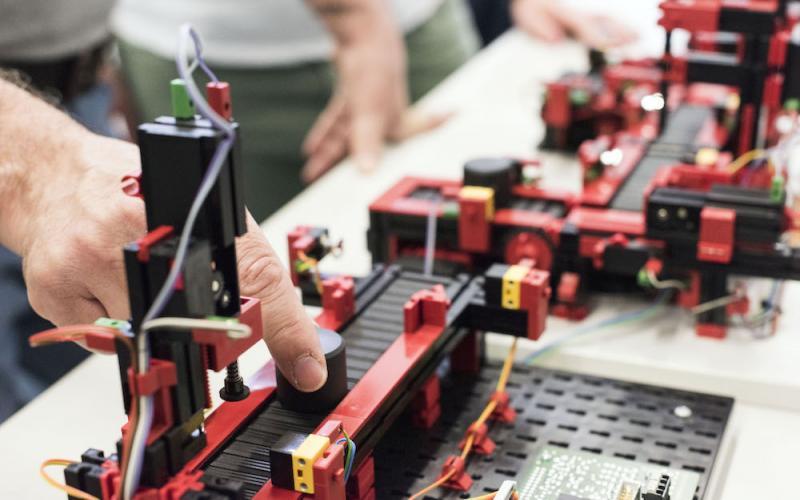 Elettrotecnica ed elettronica articolazione Automazione